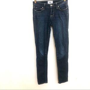 Paige medium wash skyline skinny jeans Sz 25